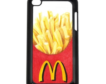 French Fries Apple iPod Touch 4g Hard Case Original Food Art Choose Case Color