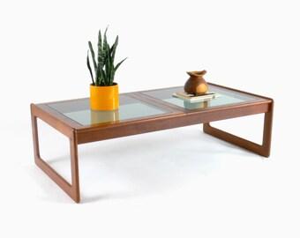 Danish Modern Teak Coffee Table for Comfort