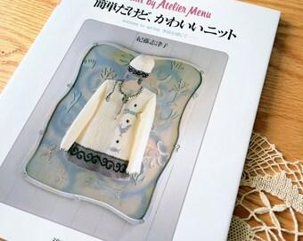 Vintage Japanese Craft Book, Knit Bag, Knit Sweater, Knit Dress, Knit Cardigan Pattern, Knit Jacket Pattern, Vintage Knitting Pattern