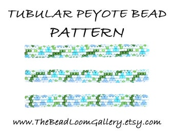 Tubular Peyote Bead PATTERN - Vol. 8 - Lily of the Valley - PDF File PATTERN