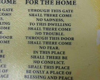 """Decal for """"Blessing for the Home"""""""
