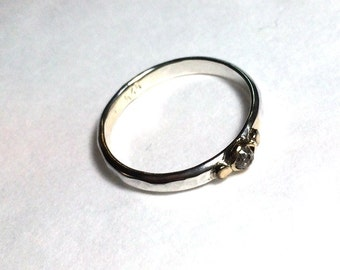 Engagement Ring, Gemestone ring, Anniversary ring, 14k gold ring, silver ring, Gift for her, birtday gift, lab diamonds ring, made to order