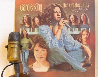 """ON SALE Carole King Vinyl Record Album 1970s Love Songs Easy Listening """"Her Greatest Hits: Songs of Long Ago"""" (Original 1978 Ode w/ """"So Far"""