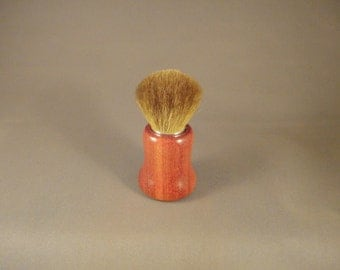 Kabuki Style Makeup Brush - Natural Sable Hair - Bloodwood Handle