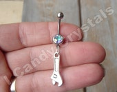 Tool Wrench Belly Button Piercing 14 Gauge