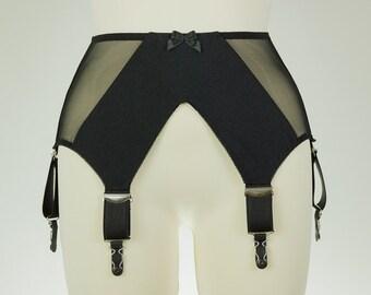 wide garter belt etsy