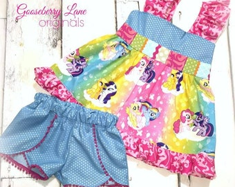 Gooseberry Lane Originals My Little Pony Short Set