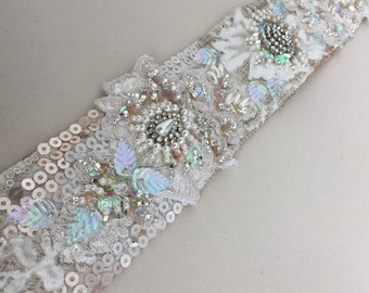 Bridal Belt Ivory Belt Lace Belt Bridal Sash Wedding Belt Rhinestone Belt Wedding Sash Rhinestone Sash Crystal Belt Wedding Dress Belt