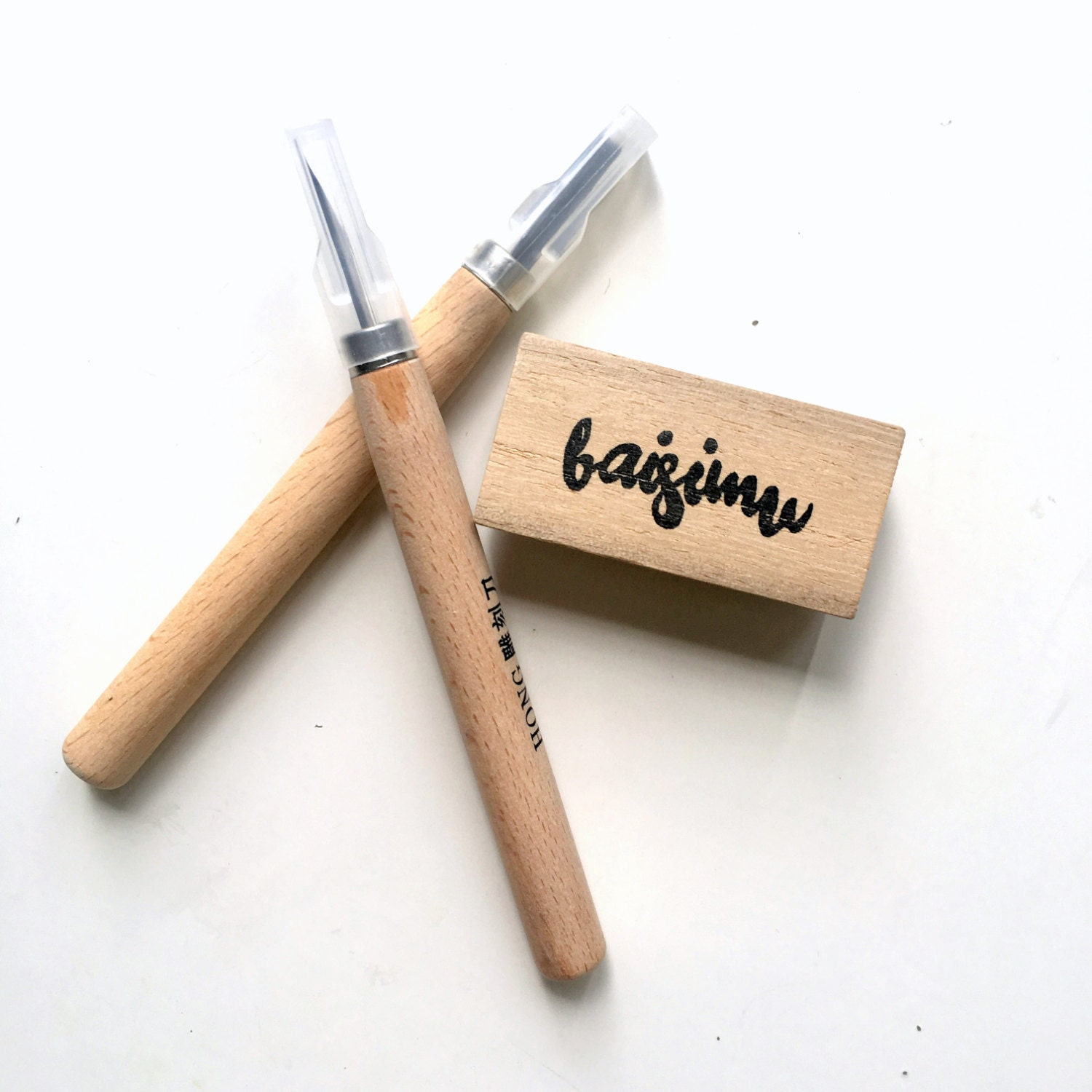 Make it yourself rubber stamp carving set for beginners