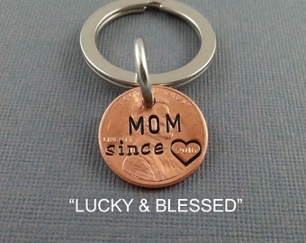Mom Stamped Penny - Gift for Her - Daughter Gift For - Stamped Penny - Son Gift For - New Mom - Best Mom