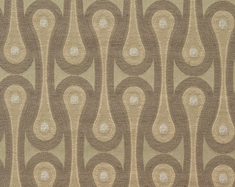 Maharam Fabric Design 9297 Olive (Taupe) Josef Hoffmann - Mid Century Modern - New, High-End Designer Fabric - Sold By-the-Yard