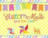 Custom Order for Cassi Baker