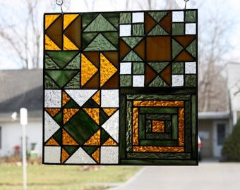 Stained Glass Panel Quilt Block Sampler
