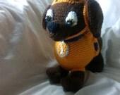 Crochet Zuma Patrol inspired