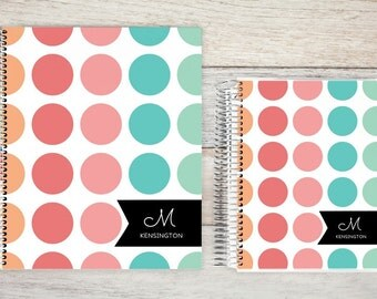 Monthly Planner | 24 Month Planner | Personalized Monthly Planner | 2 Year Planner | Monthly Planner Organizer | burst