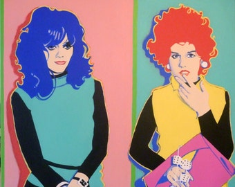 b52s painting (kate and cindy)