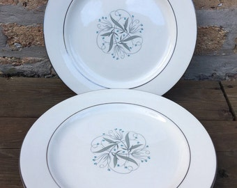 Dinner PLATE - CELESTE china by Homer Laughlin -  dinner plate - made in america - priced per piece