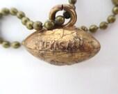 TEXAS A&M Football Charm / Pendant / Key Chain - Vintage