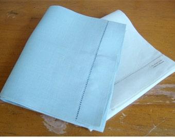 2 Vintage Irish Linen Hand Towels NWT