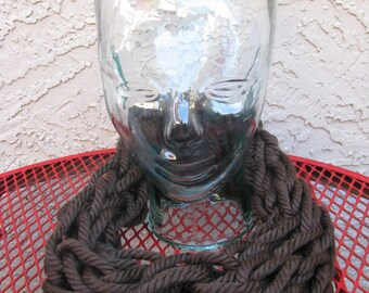 Chunky Coffee Bean Brown Cowl