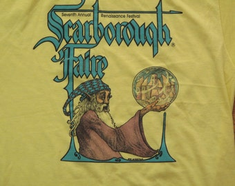 vintage Scarborough Faire Merlin t shirt