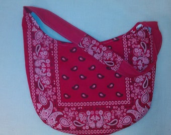 Red Bandana Purse