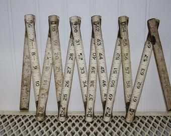 Vintage 6 foot Folding Ruler for supplies - item #1579