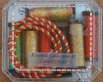 Kreinik Collection #2 - Christmas - Metallic Threads
