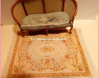 Carpet or rug: Accessory for a miniature house in 1/12 th.