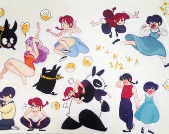 Ranma 1/2 Stickers