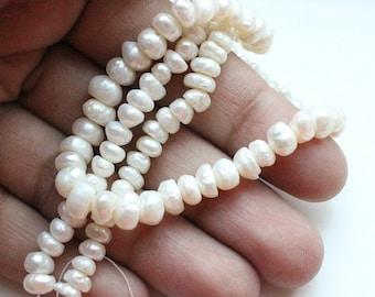 White creme freshwater pearl