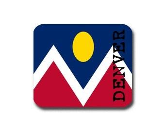 Denver Flag  Mouse Pad - Mousepad