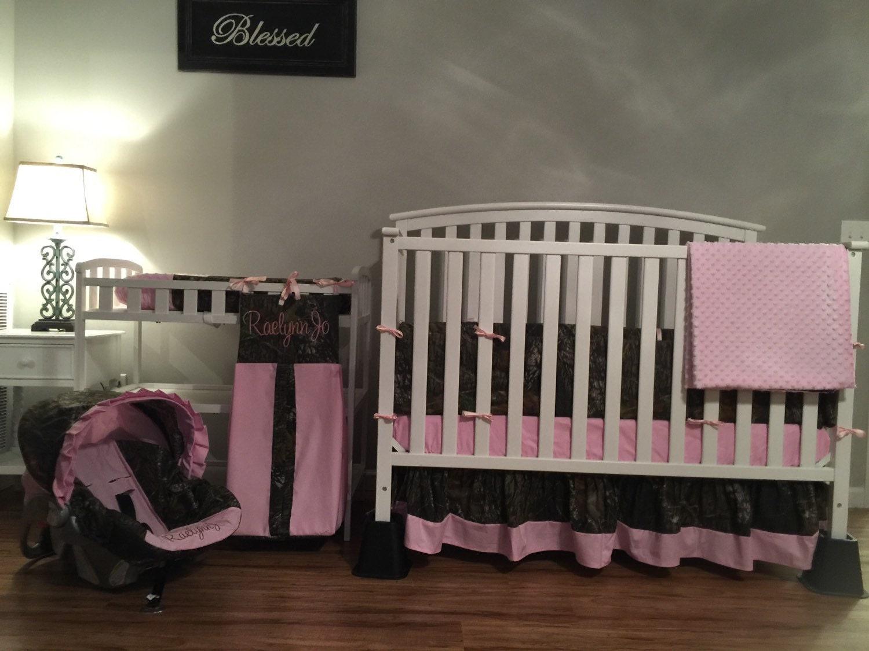 Just Add Baby 9 Pc Nursery Package Camo Mossy Oak Fabric