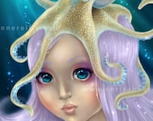 Art Print DinA4 - Sea Princess - LUSTER ART PRINT
