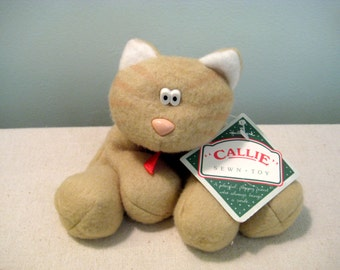 Vintage Hallmark Callie Cat Sewn Toy