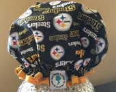 Premium Quality Luxury Spa Shower Cap: Pittsburgh Steelers