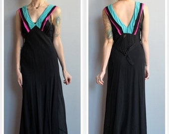 20% Sale 1930s Gown // Blind Love Gown // vintage 30s gown
