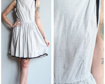 1950s Dress // Kerrybrooke Cotton Dress // vintage 50s dress
