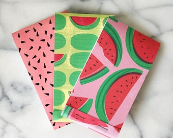 Watermelon Notepads Set