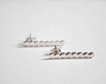Dotted Post Earrings
