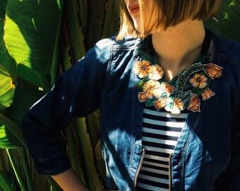 Wildflower necklace - Australiana - native - floral neckpiece