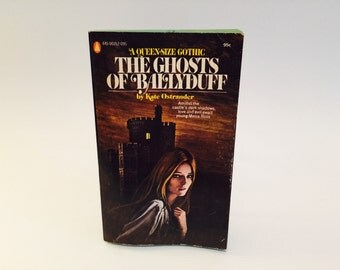 Vintage Gothic Romance Book The Ghosts of Ballyduff by Kate Ostrander 1972 Paperback