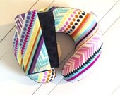 Baby-Toddler- Kids Neck Travel Pillow with matching Car Seat Strap Covers