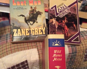 Zane  GREY  Books WESTERNS