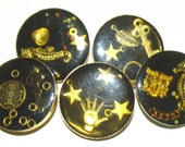Vintage Buttons 1980's Junque Deco or Treasure buttons