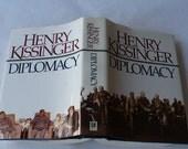 Henry Kissinger, Diplomacy, United States, Foreign Relationships, New World Order, Books, History Books, Political Books, Vintage Books,