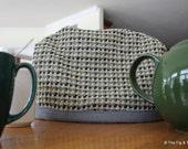 Tea Cozy 100% Wool - Masculine Teapot Insulation Device