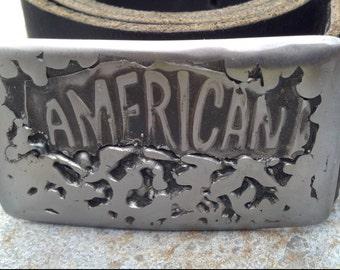 Welded Metal Belt Buckle