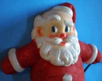 Vintage Mid Century Christmas Decoration - Santa Claus