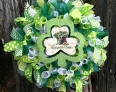St. Patrick's Day Wreath, Wreath, St. Patrick's Day Decor, St. Patrick's Day